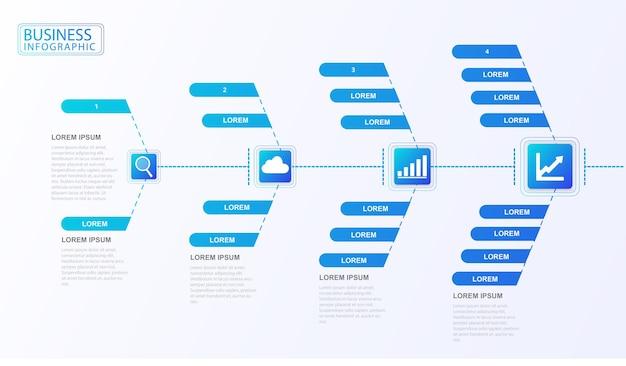 Stroomdiagram infographic bedrijfsorganisatie dataset procesclassificatie data-analyse