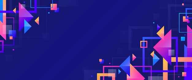 Structurele geometrische app omslagsjabloon