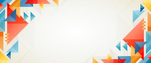 Structurele geometrische app-omslagsjabloon