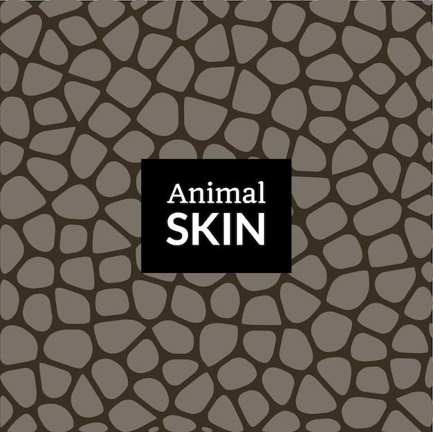 Structuurpatroon van de huid van een proefdier. olifant krokodil slang of reptiel vector huidtextuur print.