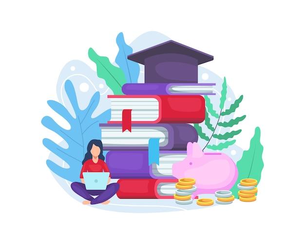 Student investeert in onderwijs