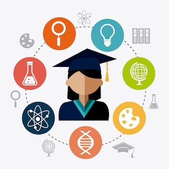 Studenten afstuderen ontwerp