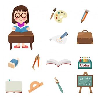 Studenten pictogrammen
