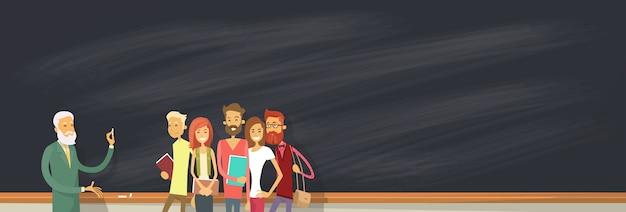Studentengroep via blackboard