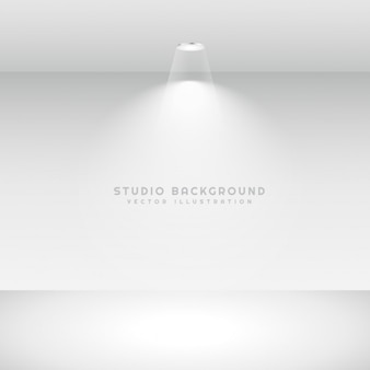 Studio achtergrond met ter plaatse licht
