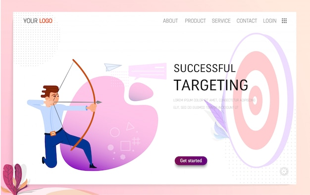 Succesvol targetingconcept