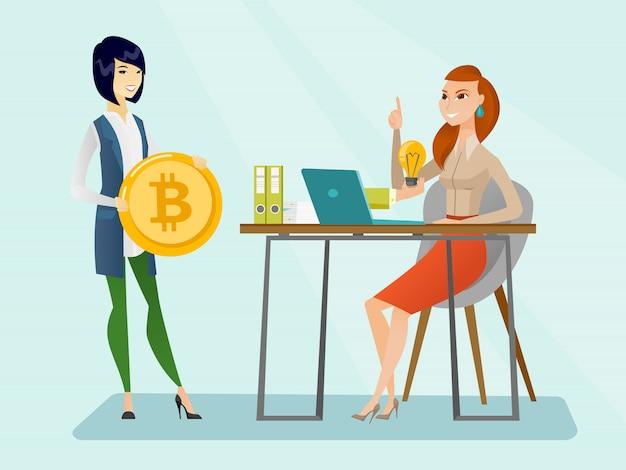 Succesvolle promotie van het opstarten van nieuwe cryptocurrency