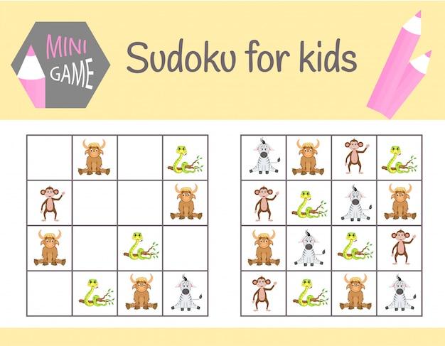 Sudoku-spel voor kinderen