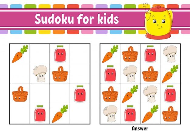 Sudoku voor kinderen.