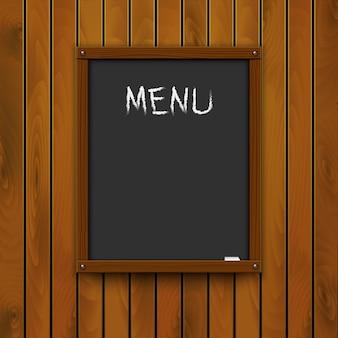 Suggestie van de chef - klassiek bord met krijt.