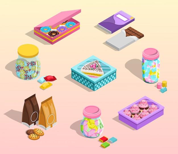 Suikergoedverpakkingsset