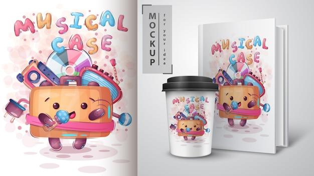 Suitcase zingt een lied - poster en merchandising