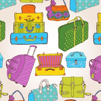 Suitcases patroon