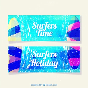Summer banners collectie