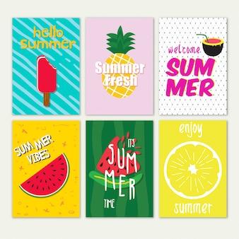 Summer card holiday