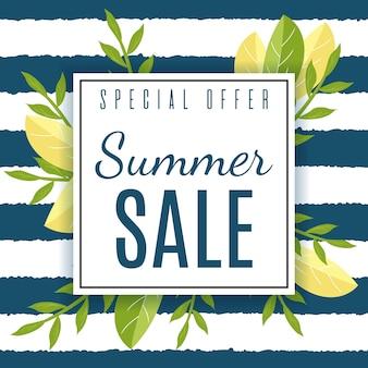 Summer sales-kaart