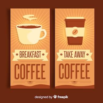 Sunburst koffiebanner