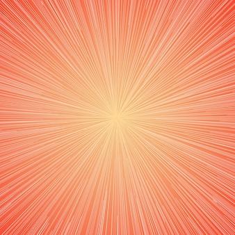 Sunburst lichte moderne kleur als achtergrond voor de zomer