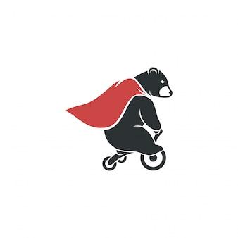 Super bear-ontwerp