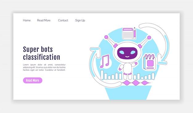 Super bots classificatie homepage