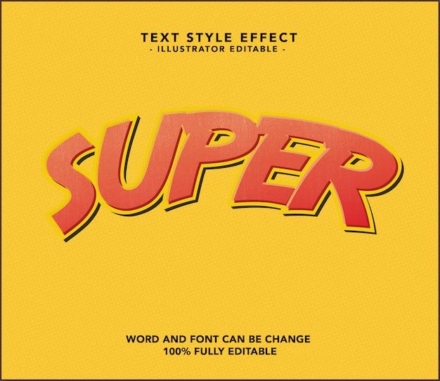 Super lettertype