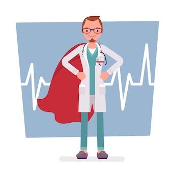 Super mannelijke dokter