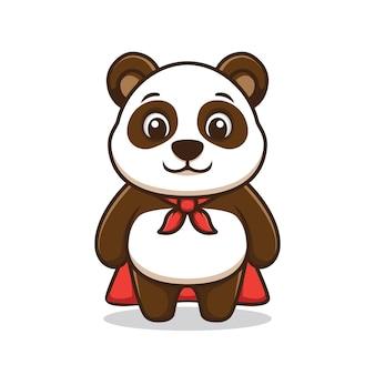 Super panda cartoon afbeelding