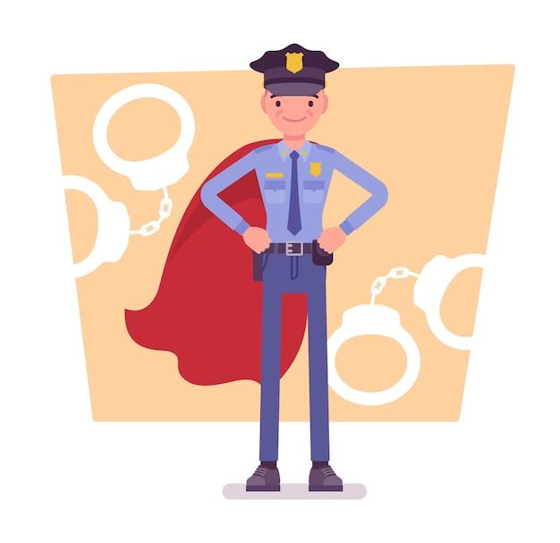 Super politieagent van dienst