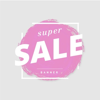 Super sale-banner