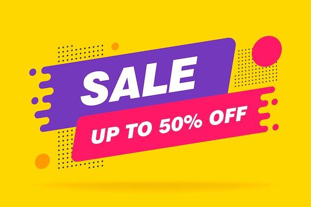 Super sale, dit weekend speciale aanbieding banner