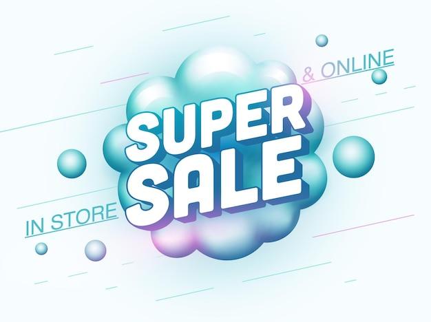 Super verkoop banner