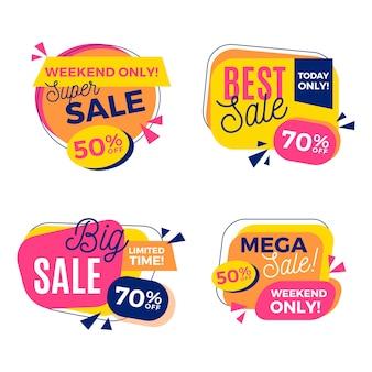 Super verkoop sjabloonontwerp spandoek