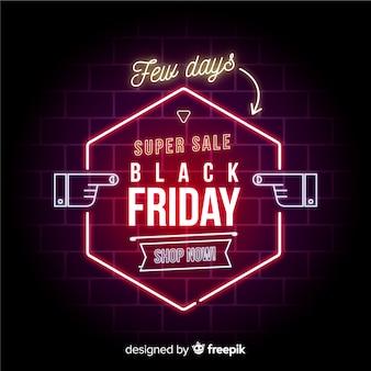 Super verkoop zwarte vrijdag banner