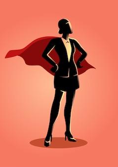 Super zakenvrouw