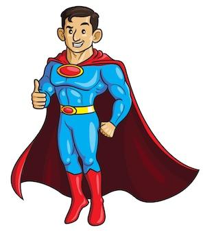 Superdad cartoon