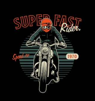 Superfast rider