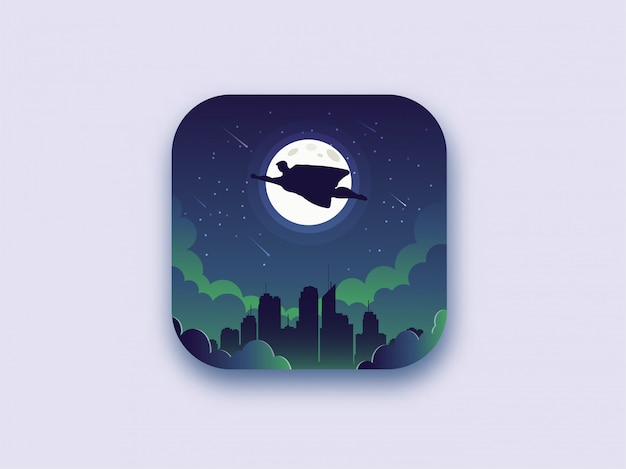 Superheld die 's nachts vliegt
