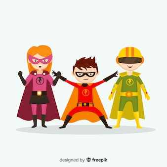 Superheld kid-collectie
