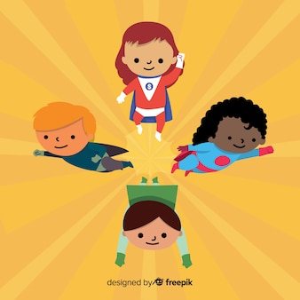 Superhero-kindercollectie