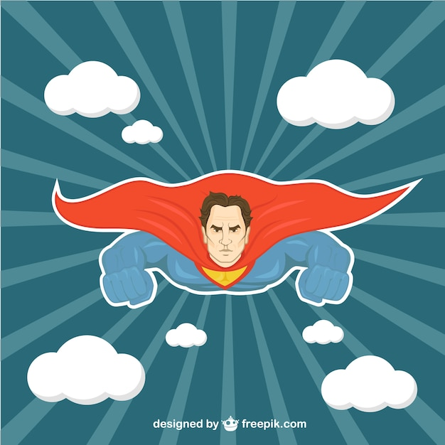Superman illustratie