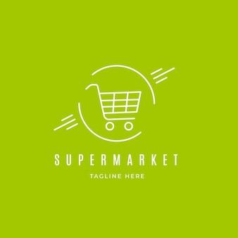 Supermarkt logo concept