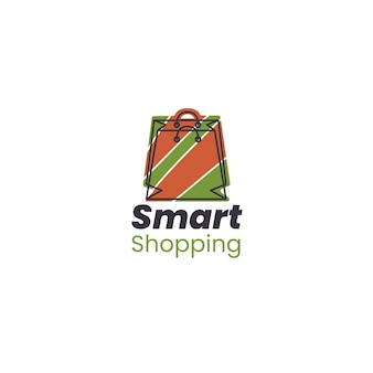 Supermarkt logo sjabloon