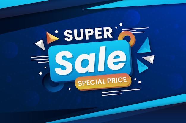 Superverkoop met speciale prijs