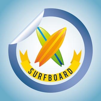 Surf eenvoudig element