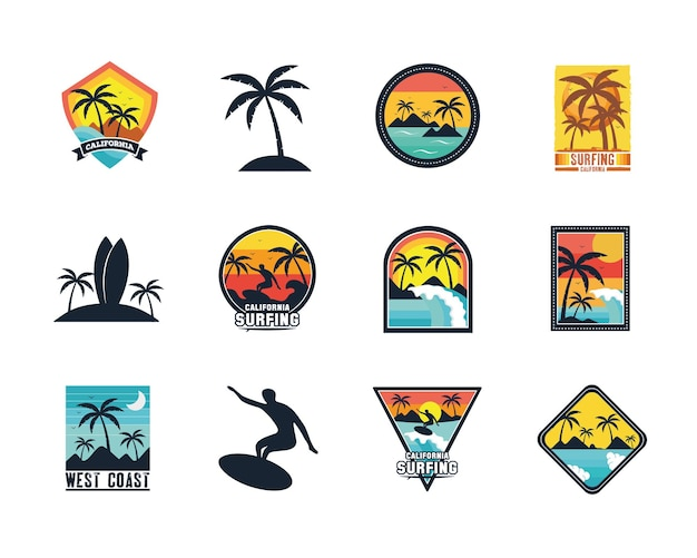 Surf patches ingesteld