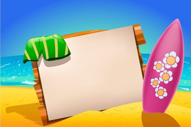 Surfboard papier