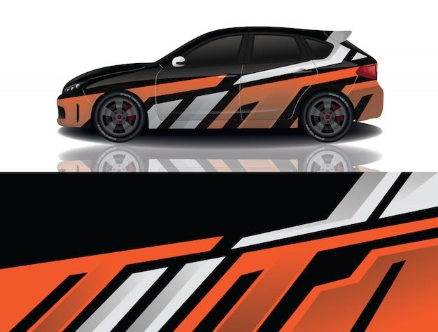 Suv auto sticker wrap ontwerp