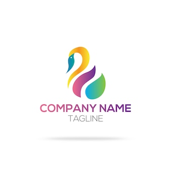Swan logo ontwerp