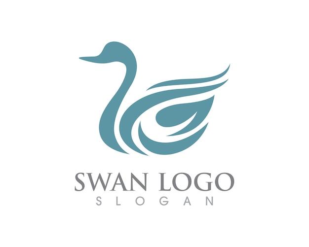 Swan logo sjabloon