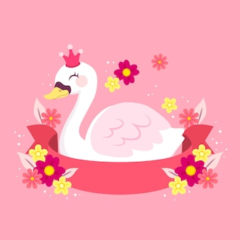 Swan prinses concept